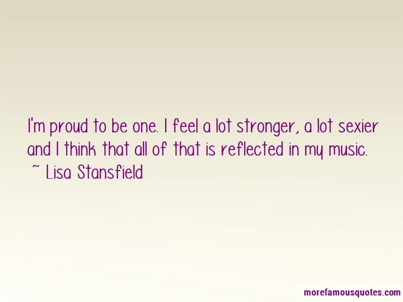 Lisa Stansfield Quotes