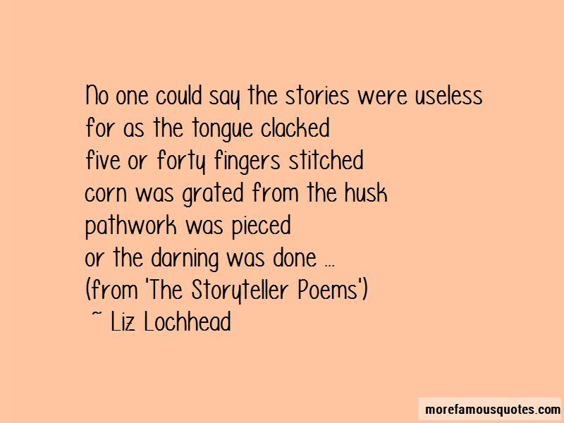 Liz Lochhead Quotes Pictures 2