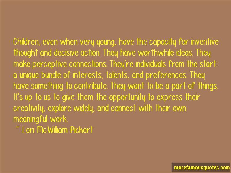 Lori McWilliam Pickert Quotes Pictures 2