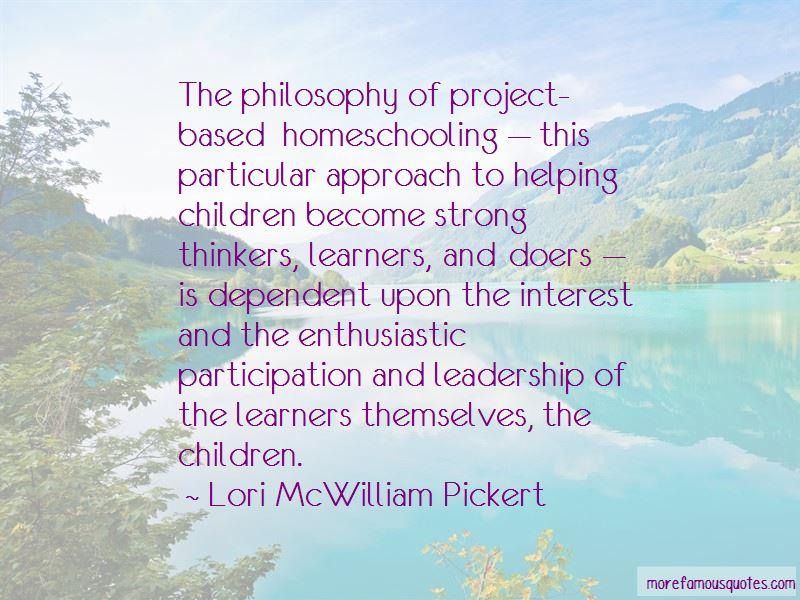 Lori McWilliam Pickert Quotes Pictures 3