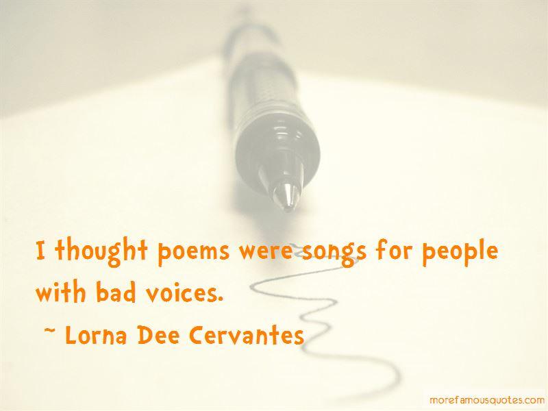 Lorna Dee Cervantes Quotes Pictures 2