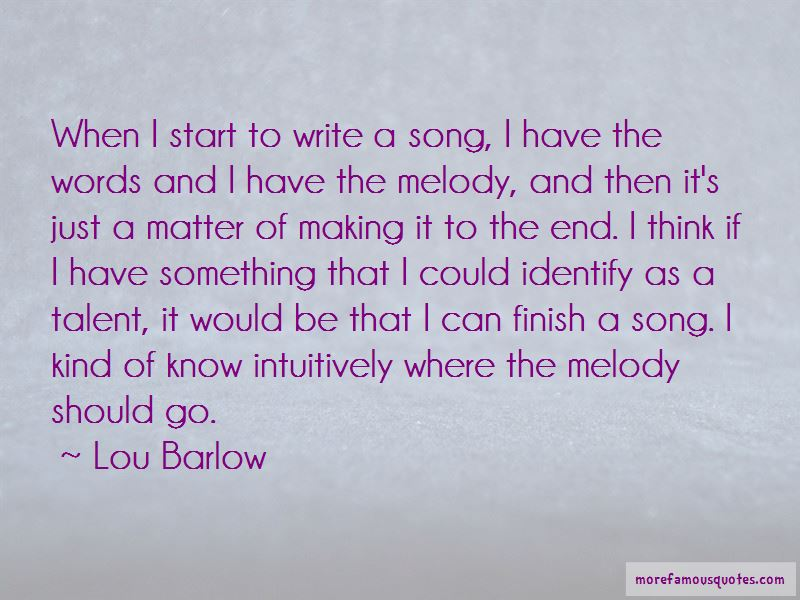 Lou Barlow Quotes Pictures 3