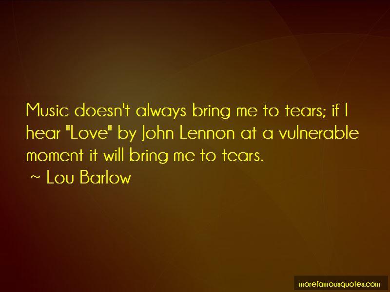 Lou Barlow Quotes