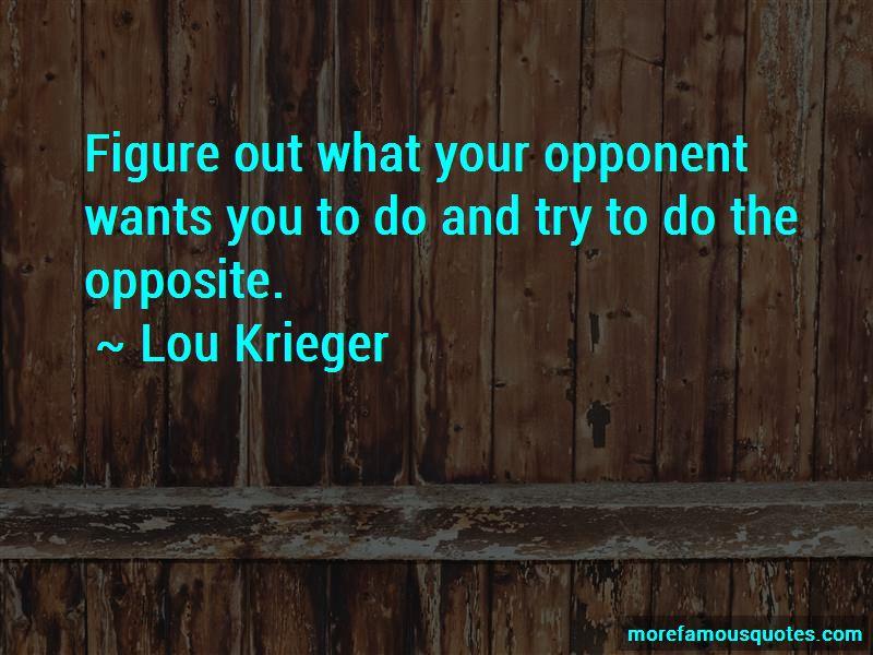 Lou Krieger Quotes Pictures 2