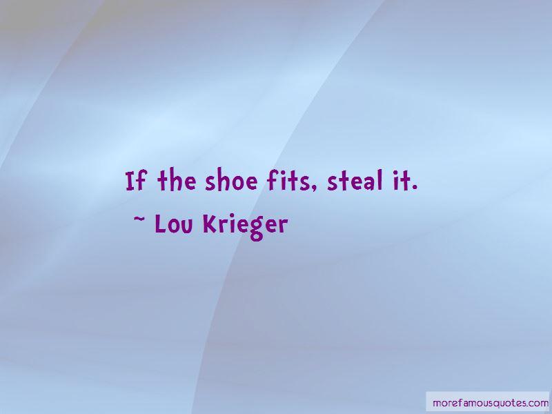 Lou Krieger Quotes