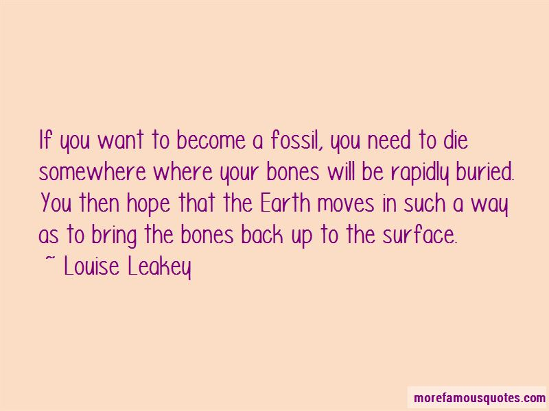 Louise Leakey Quotes Pictures 4