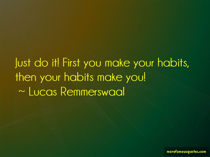 Lucas Remmerswaal Quotes Pictures 2