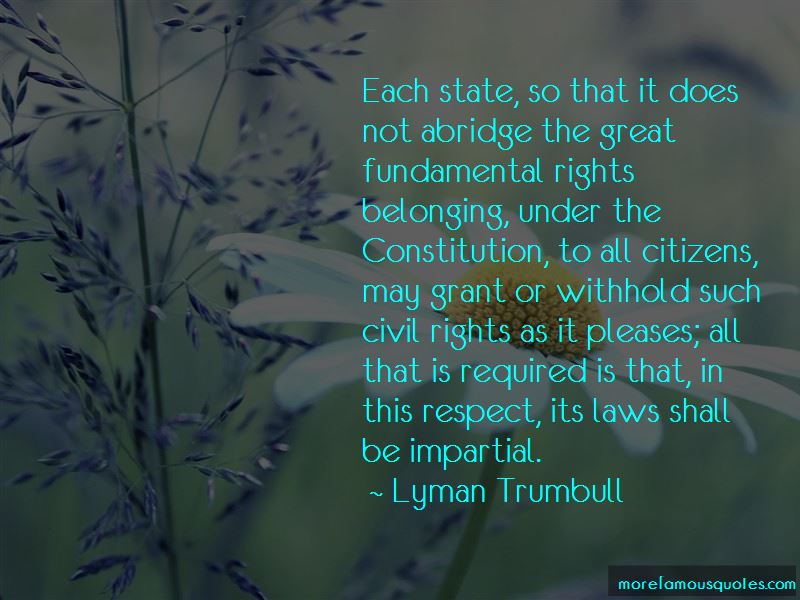 Lyman Trumbull Quotes Pictures 2