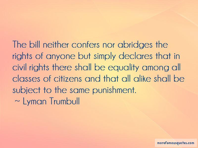 Lyman Trumbull Quotes