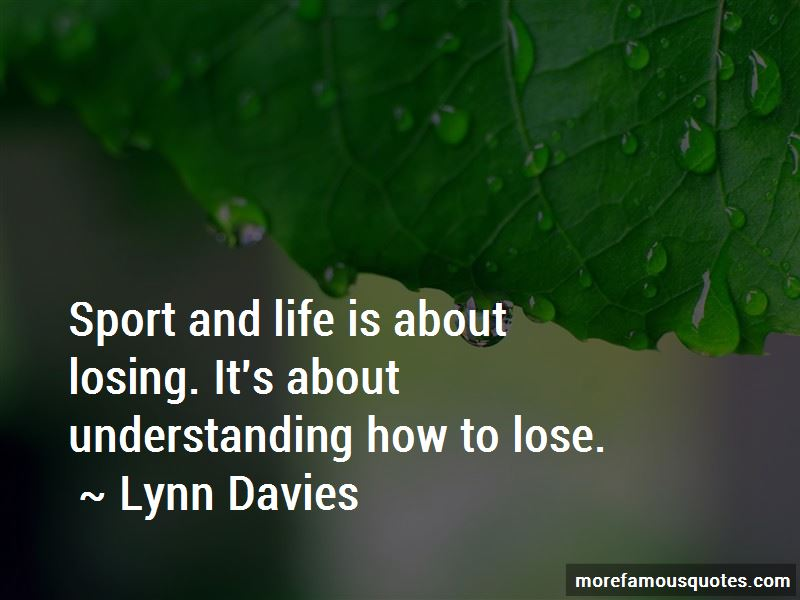 Lynn Davies Quotes Pictures 2