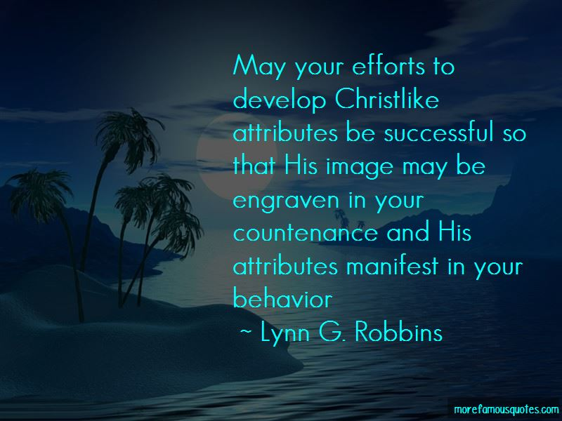 Lynn G. Robbins Quotes Pictures 2
