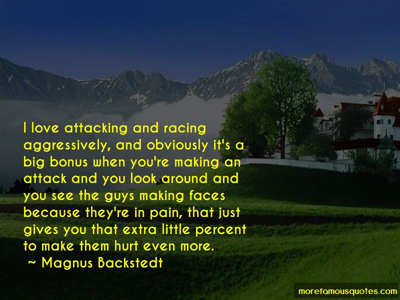 Magnus Backstedt Quotes Pictures 4