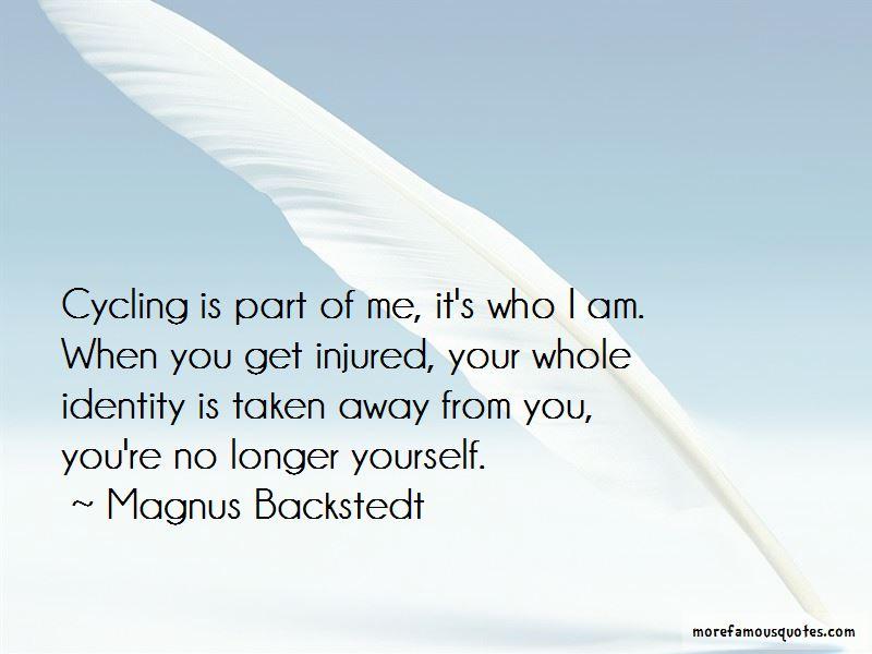 Magnus Backstedt Quotes