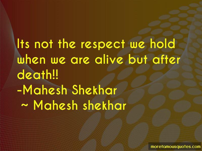 Mahesh Shekhar Quotes Pictures 3
