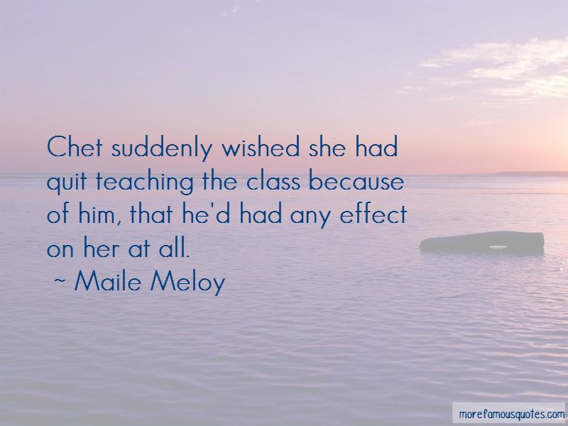 Maile Meloy Quotes Pictures 4