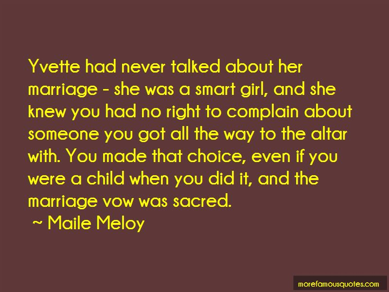 Maile Meloy Quotes