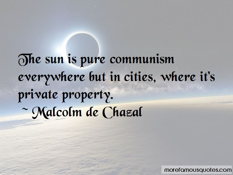 Malcolm De Chazal Quotes