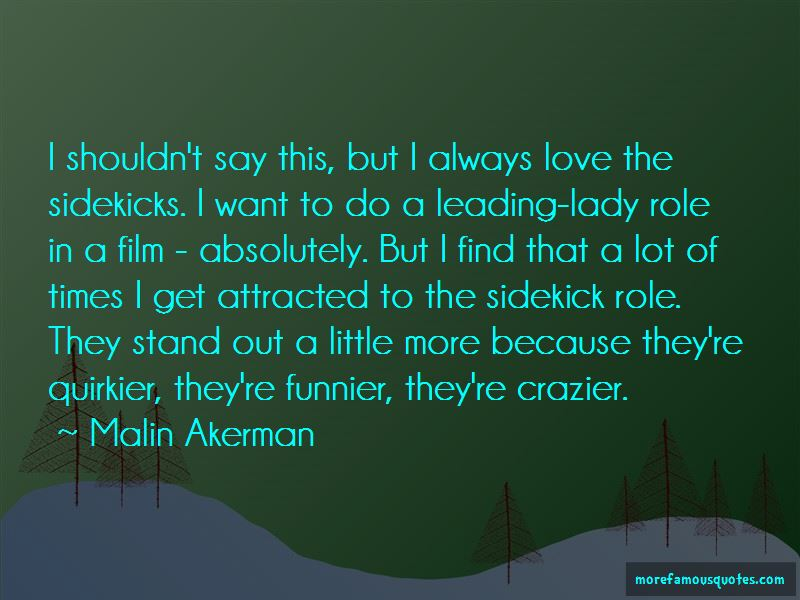 Malin Akerman Quotes Pictures 2