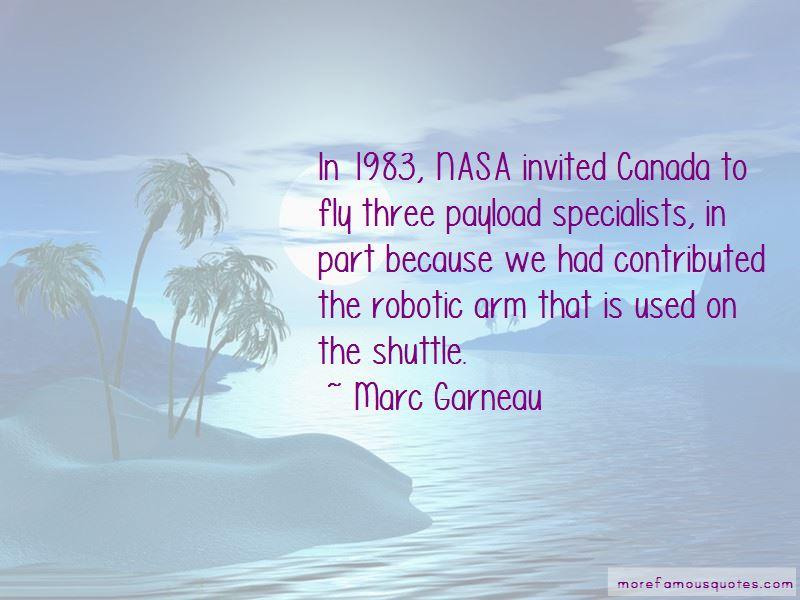 Marc Garneau Quotes Pictures 3
