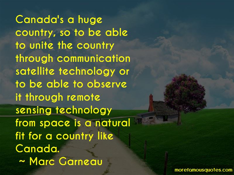 Marc Garneau Quotes