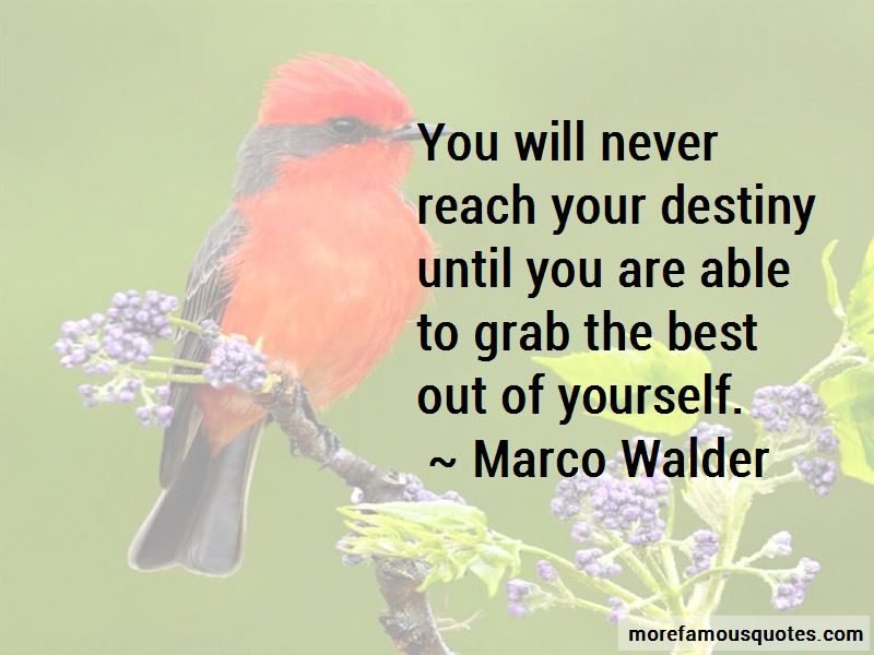 Marco Walder Quotes