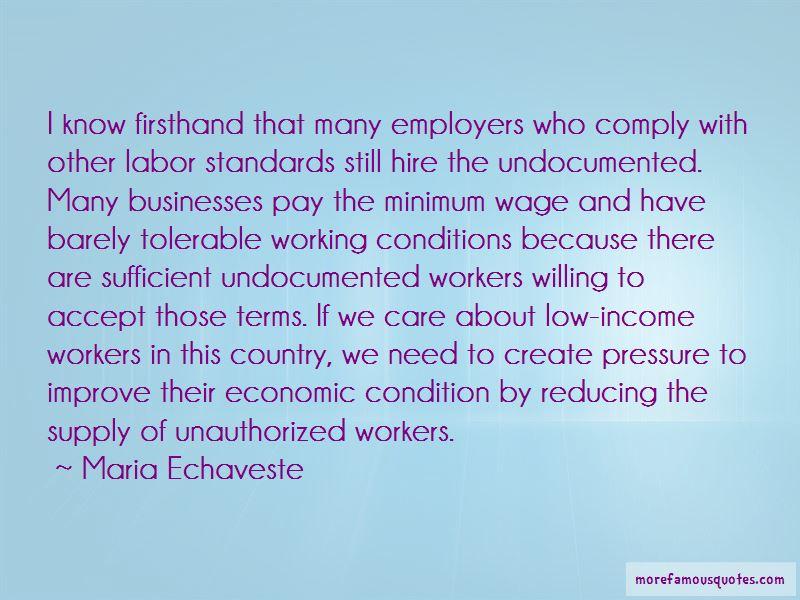 Maria Echaveste Quotes