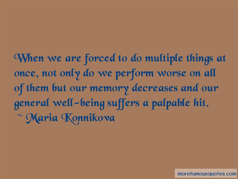 Maria Konnikova Quotes Pictures 4