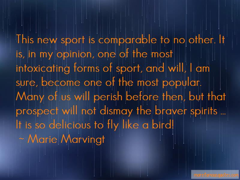 Marie Marvingt Quotes