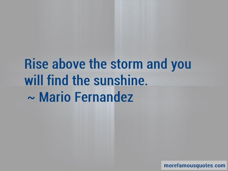 Mario Fernandez Quotes Pictures 2