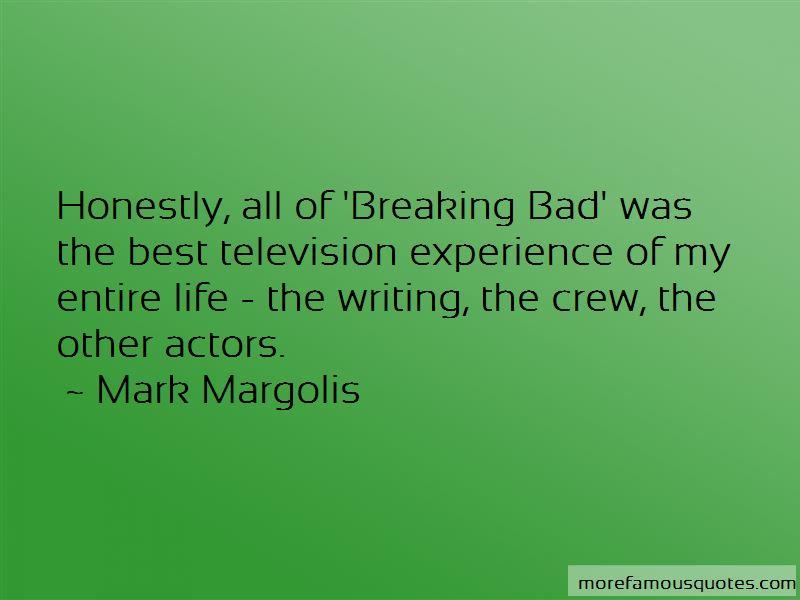 Mark Margolis Quotes Pictures 3