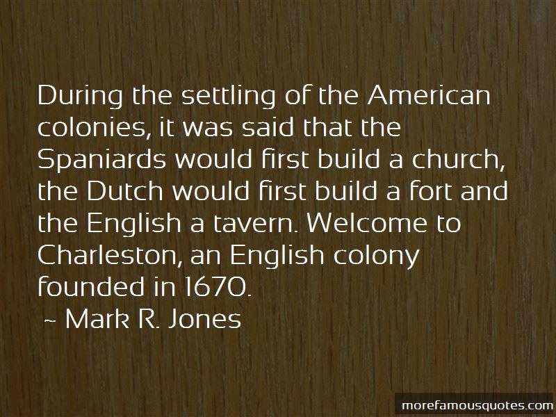 Mark R. Jones Quotes