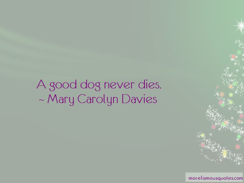 Mary Carolyn Davies Quotes Pictures 2