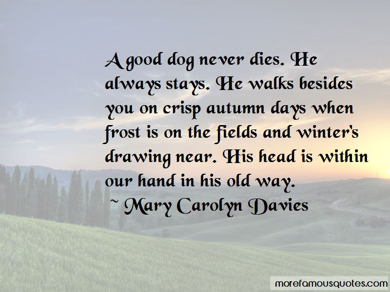 Mary Carolyn Davies Quotes Pictures 4