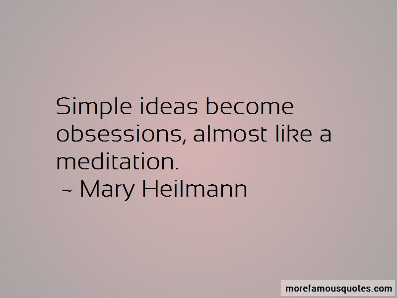 Mary Heilmann Quotes