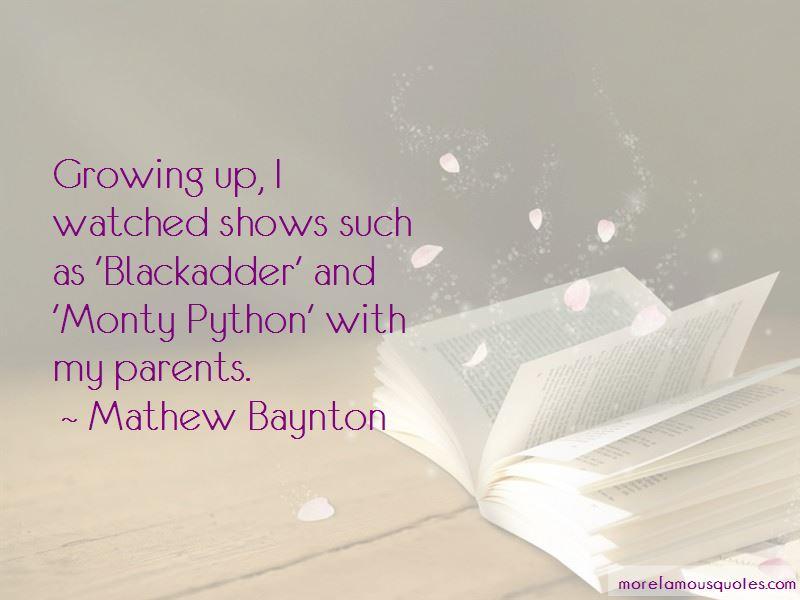 Mathew Baynton Quotes Pictures 4