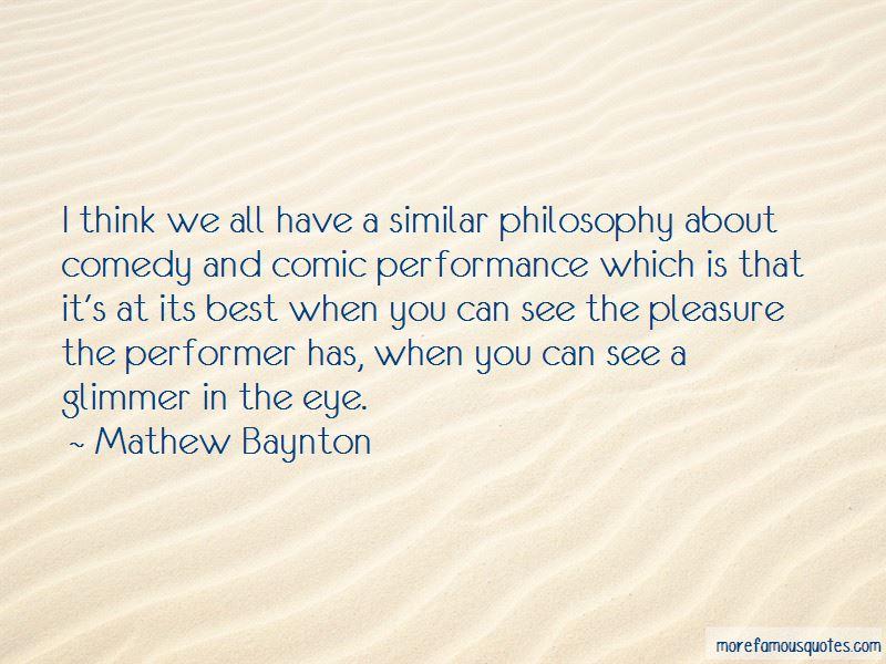 Mathew Baynton Quotes