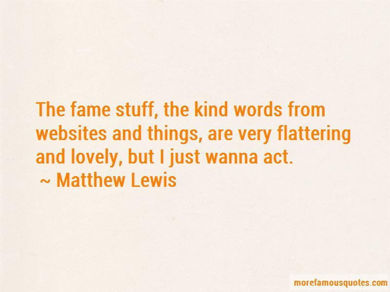 Matthew Lewis Quotes Pictures 3