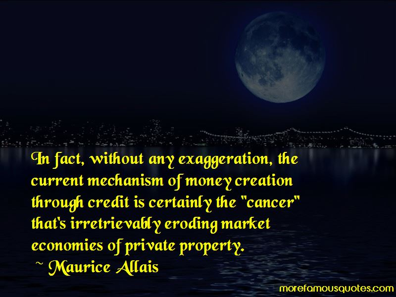 Maurice Allais Quotes Pictures 2