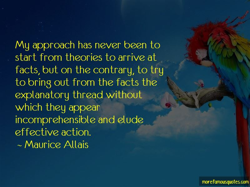 Maurice Allais Quotes Pictures 4