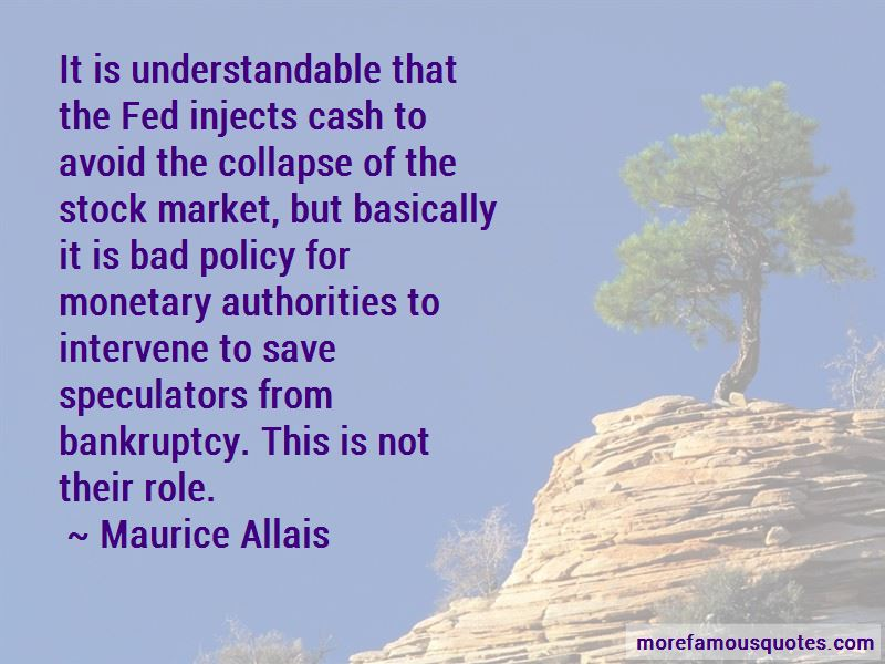 Maurice Allais Quotes