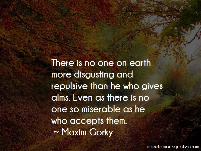 Maxim Gorky Quotes