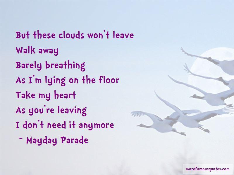 Mayday Parade Quotes