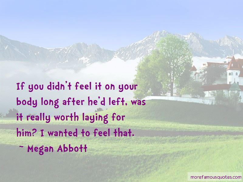 Megan Abbott Quotes Pictures 2