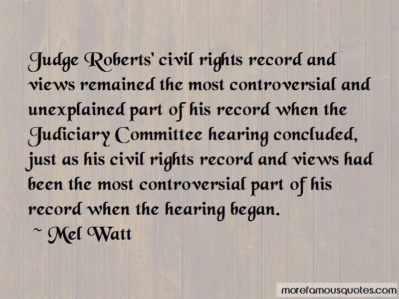 Mel Watt Quotes Pictures 3