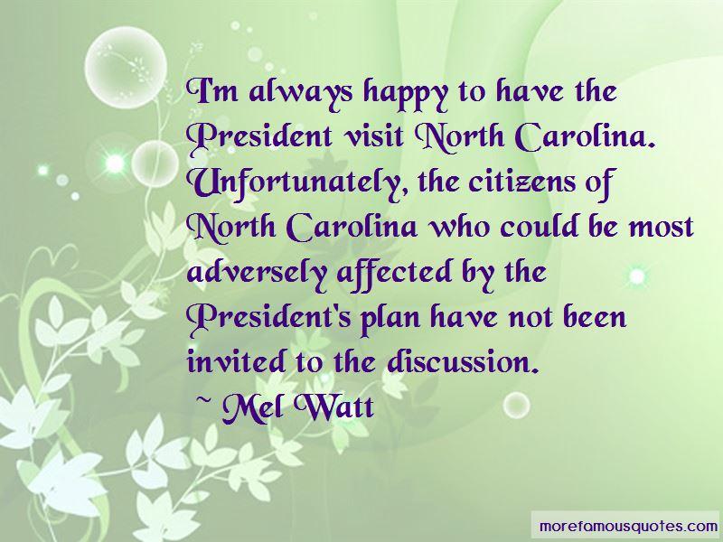 Mel Watt Quotes