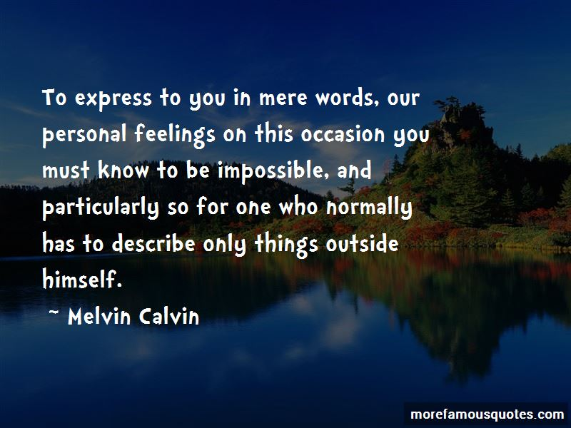 Melvin Calvin Quotes Pictures 2