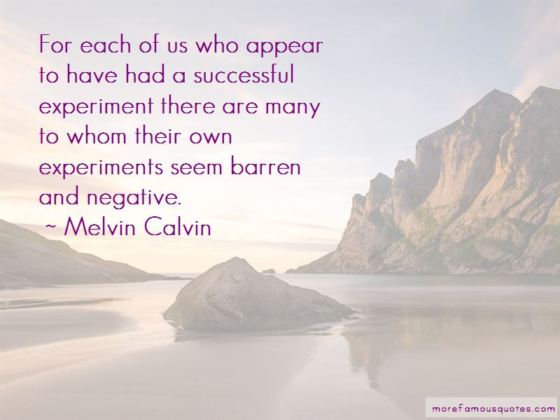 Melvin Calvin Quotes Pictures 3