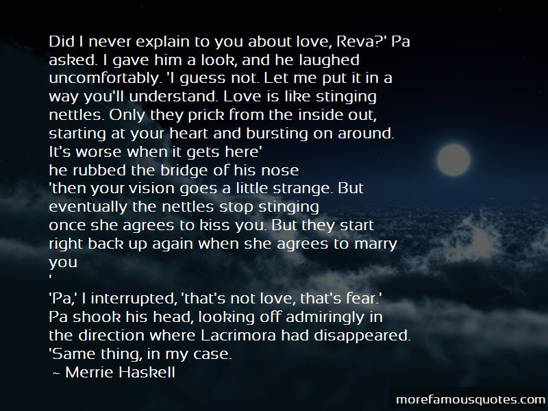 Merrie Haskell Quotes Pictures 2