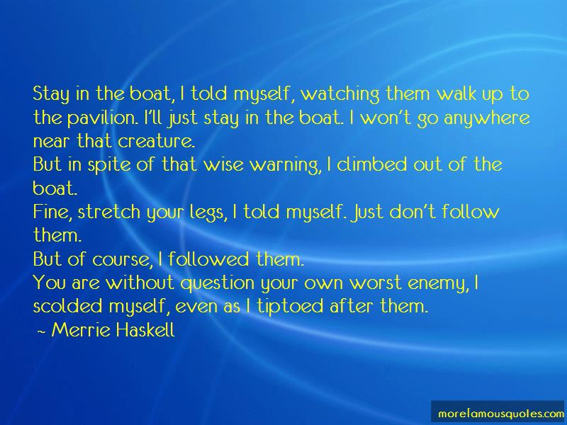 Merrie Haskell Quotes Pictures 4