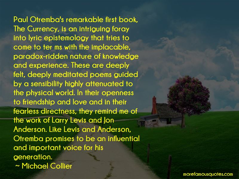 Michael Collier Quotes Pictures 2